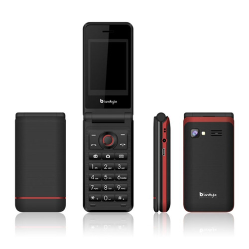 celular barato sapito landbyte 2030 radio mp3 dual sim-negro