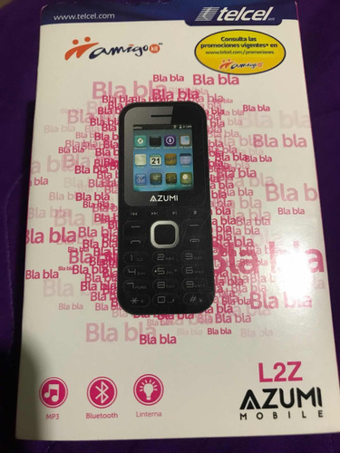 celular básico azumi l2z nuevo telcel