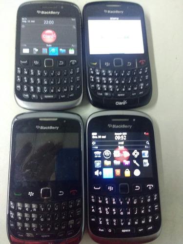 celular blackberry modelo curve kit c/4 unidades