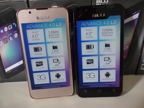 celular blu advance l3 novo anatel 3g android até64gb notaf.