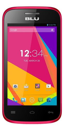 celular blu dash jr 4.0k d143k  4.4 kitkat dual chip rosa