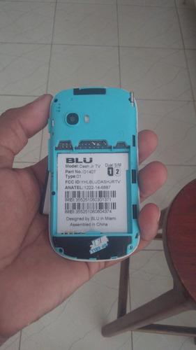 celular blu dash jr tv d140t touch trincado