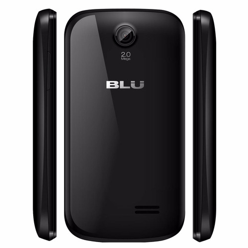 celular blu dash jr: wi-fi, camera, mp3, radio -  ( 2 chips)