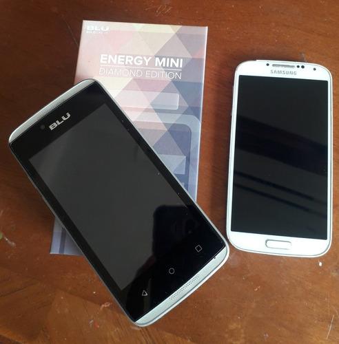 celular blu diamons mini y samsung galaxy s4 para repuesto