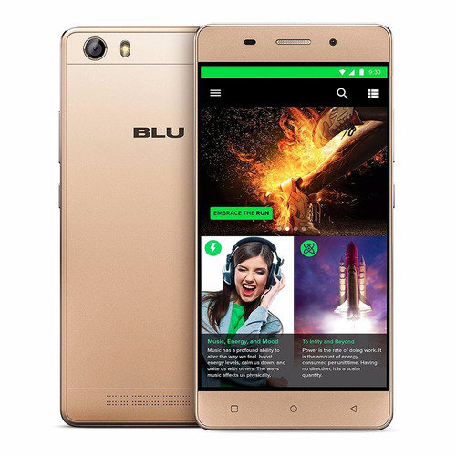 celular blu energy x lte 4000 mah 16gb rom 8mp