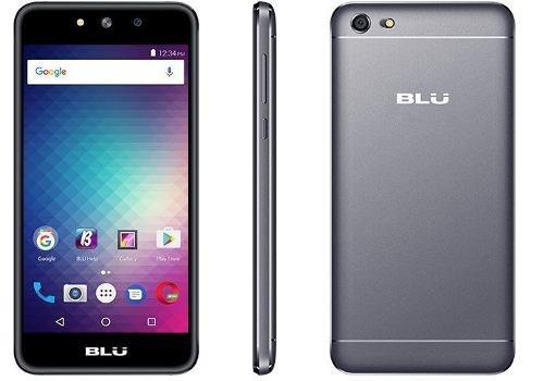 celular blu grand m dual sim 3g tela 5.0 preto+nf