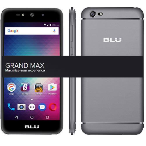 celular  blu grand max 8gb tela 5  1g ram 3g cam 8