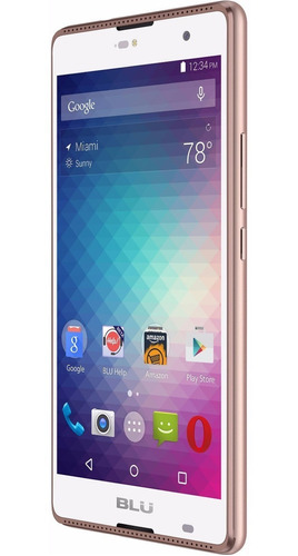celular blu grand pantalla 5.5 hd flash frontal 1gb ram 8mpx