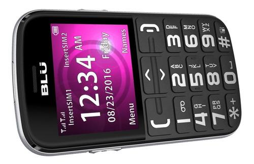 celular blu joy sos 2.4  1450 mah botón de emergencia