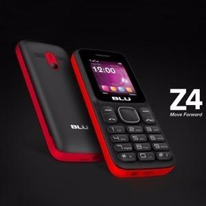 celular blu  o z4 z090 tela 1.8 dual sim radio fm