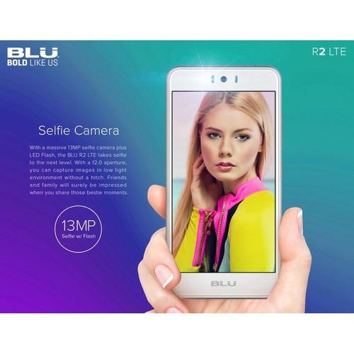 celular blu r2 orig 32gb + 3gb ram biometria android 4g lte