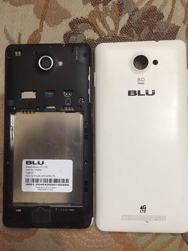 celular blu studio 5.0 ,hd, y530q tarjeta logica dañada