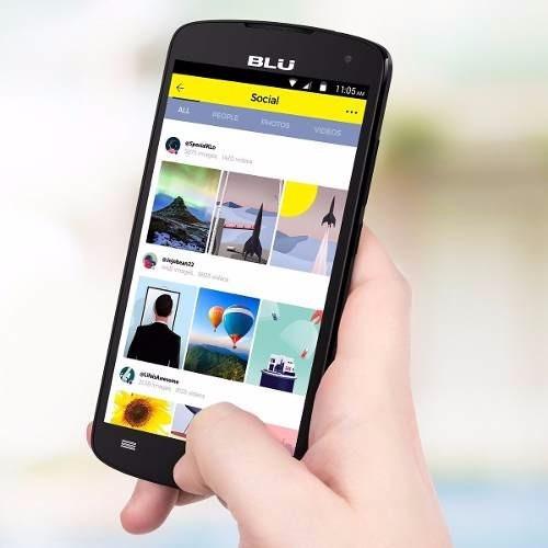 celular  blu studio x8 octa core - whatsapp facebook