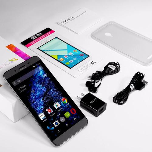 celular blu studio xl pantalla 6 android 5 smartphone 8 gb
