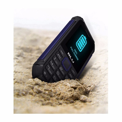 celular blu tank xtreme 2.4 dual resistente a agua e quedas
