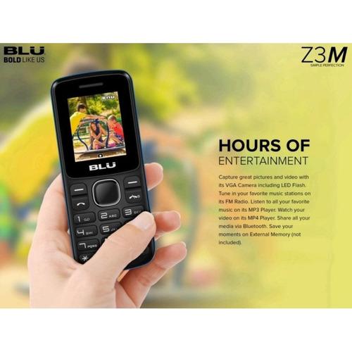 celular blu z3 music liberado camara radio dual sim 32gb bt