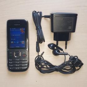 Celular C2-01 Nokia Ótimo Sinal Com Carregador Original