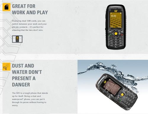 celular caterpillar b25, un cel super resistente!!!
