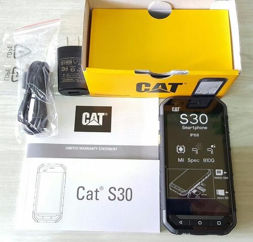celular caterpillar cat s30 doble sim grado militar quadcore