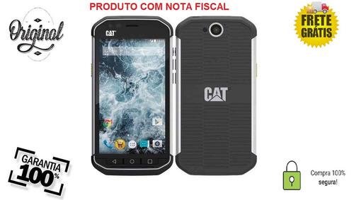 celular caterpillar cat s40 dual chip 16gb tela 4.7' 8mp +nf