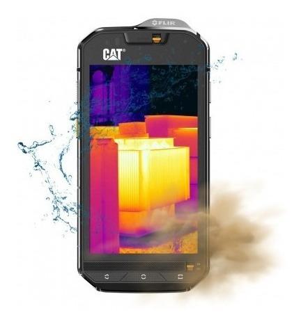 celular caterpillar s60 dual 32gb/3gb 4g-b1(br) lacrado + nf
