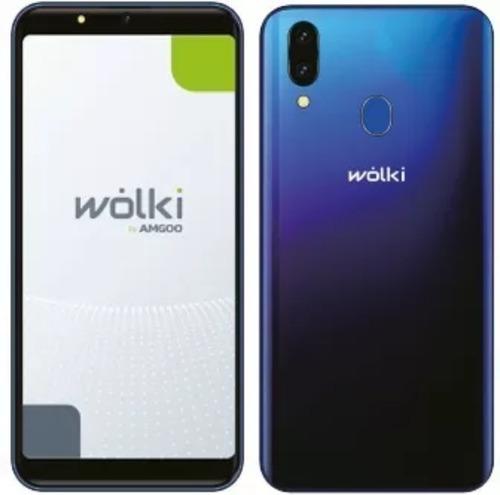 celular con huella marca wolki zte 16gb pantalla grande 6