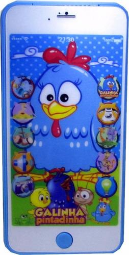 celular de la gallina pintadita infantil divertid en capital