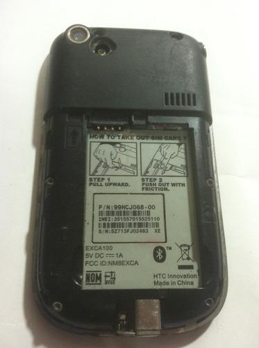 celular descompuesto piezas htc exca 100 excalibur  logica
