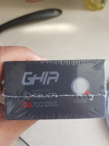celular doble sim ghia qs702 color gris