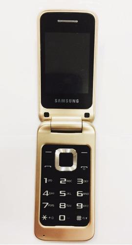celular dourado tela grande abre fecha flip p idoso fm