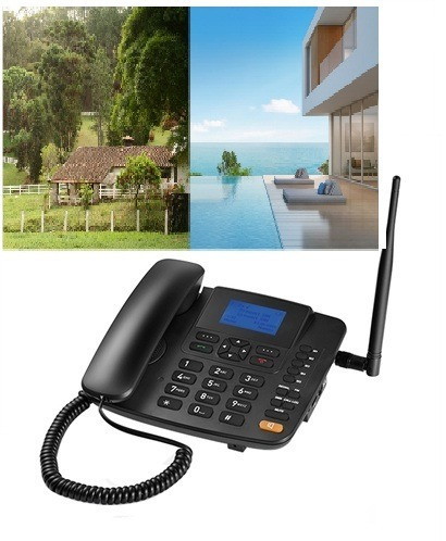 celular fixo telefone rural modem 3g net ideal roça pousadas