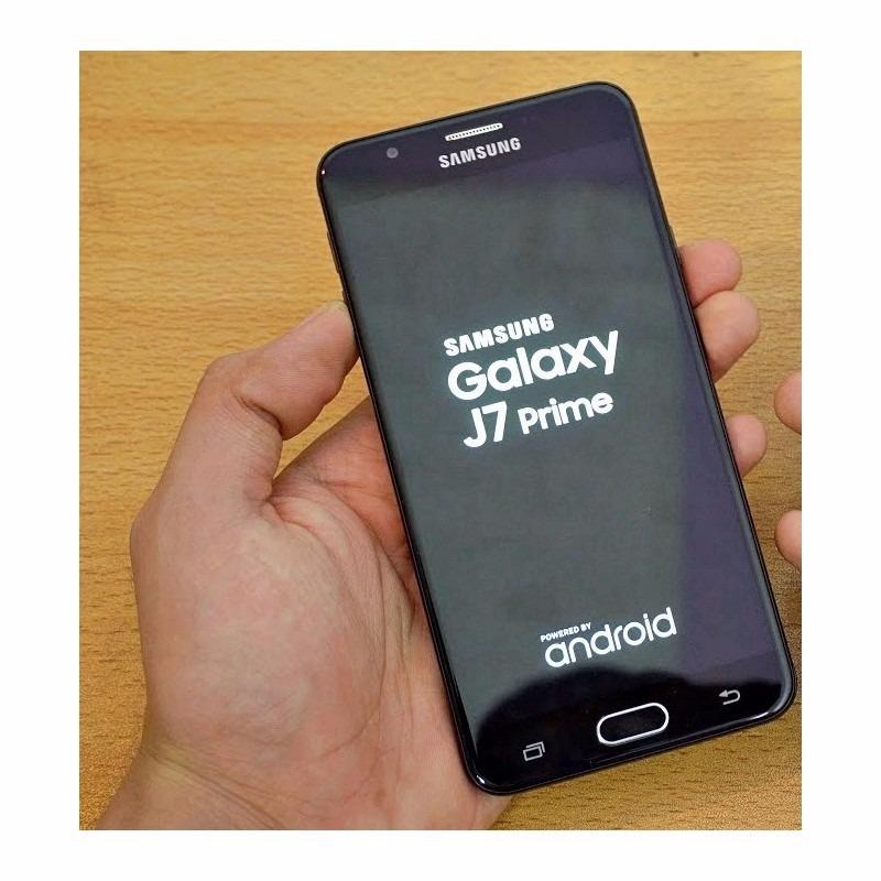 efa0b4cfc Celular Galaxy J7 Prime 32gb Original Preto + Capa E Pel - R  984