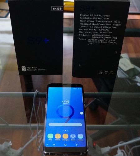 celular gen s9 + 6,2 full screen. incluye funda. envío grati