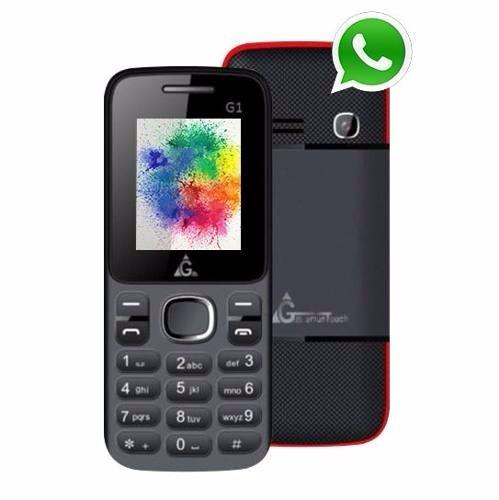 66016a20d24 Celular Genius G1 Whatsapp Mp3/mp4. Cámara. Gtia Oficial - $ 499,00 ...