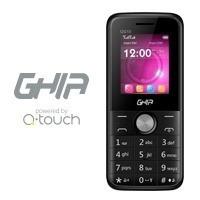 celular ghia qg10 1.77   sim doble  bluetooth negro
