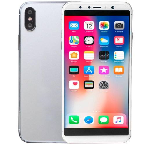 celular hiphone x doble sim 8gb pantalla 5' 8mp sensor smile