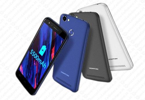 celular homtom mt6737 ht50 impresão digital 3gb ram 32gb rom