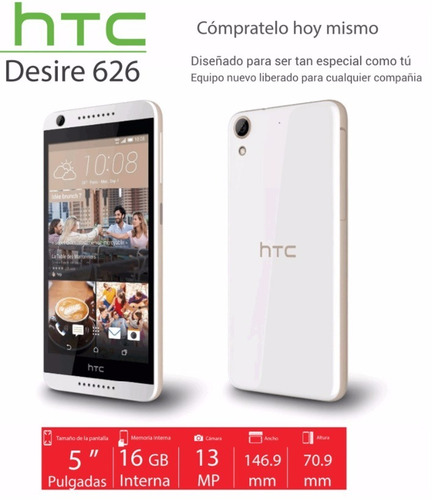 celular htc desire 626