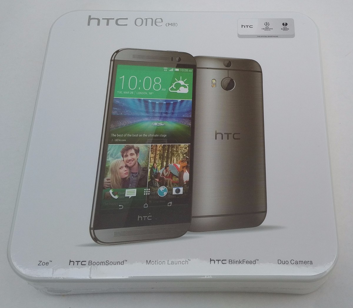 84d9e6c352e Celular Htc One M8 4g (nuevo, Sellado) 32gb: Otterbox Gratis ...