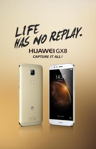 celular huawei gx8 octa core 13 mp 16gb lector de huella