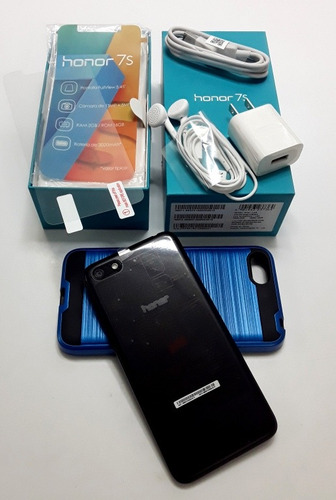 celular huawei honor 7s 2gb ram 16gb int. + forro + vidrio