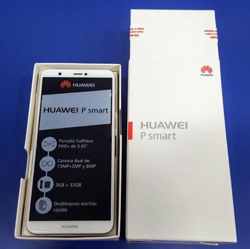celular huawei p smart 5.65''/32gb camara dual 13 mp 4g