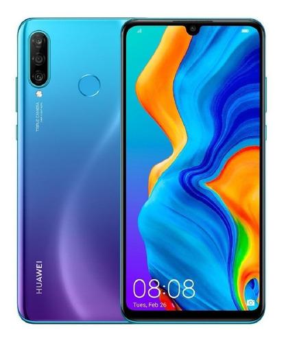 celular huawei p30 lite 128gb 4ram azul 32mpx tres camaras