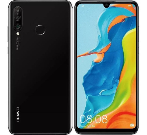 celular huawei p30 lite 128gb negro+vidrio5d