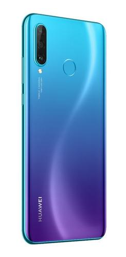 celular huawei p30 lite color azul orquidea  128gb/dual sim