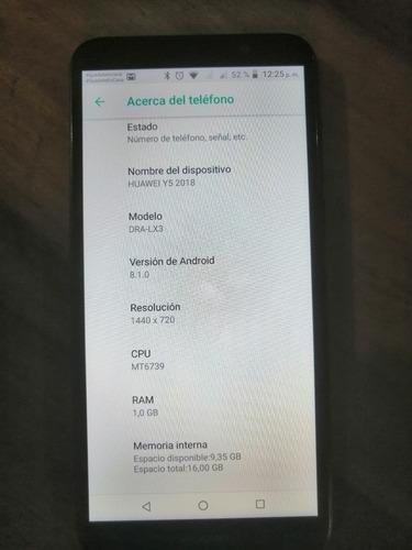 celular huawei y5 2018 dualsim black