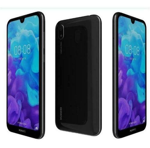 celular huawei y5 2019 32gb negro/azul