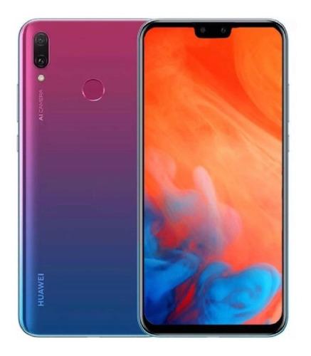 celular huawei y9 2019 /64gb/ 4 camaras + forro y vidrio 5d