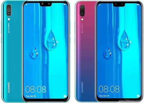 celular huawei y9 2019 64gb/3gb 16+2mp 13+2mp  huella 6.5''