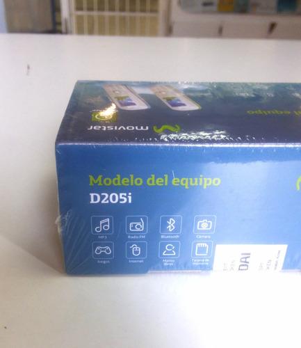 celular hyundai d205i movistar mp3 radio bluetooth camara